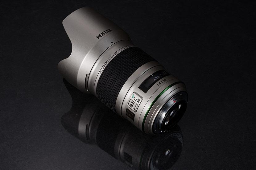 Pentax 50mm f1.4 FA HD SDM AW Silver Edition