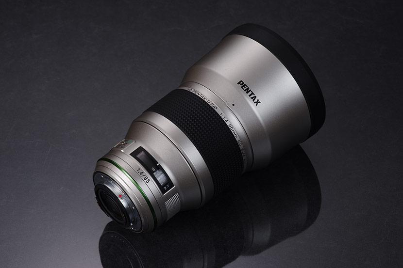 Pentax 85mm f1.4 FA HD ED SDM AW Silver Edition