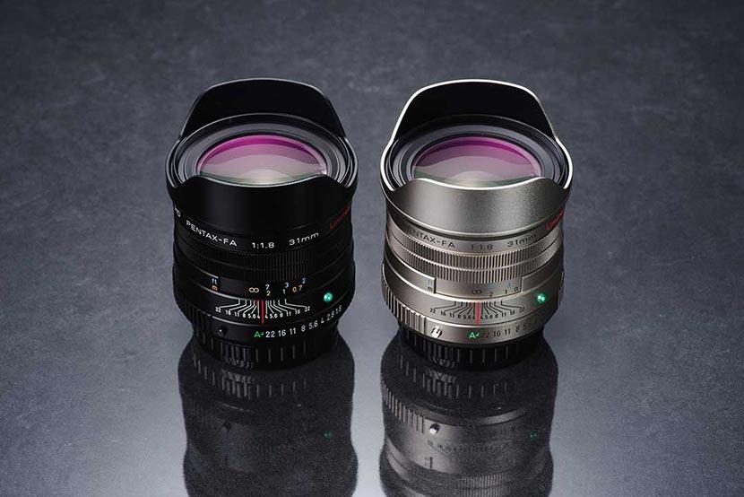 Pentax 31mm f1.8 Limited FA HD