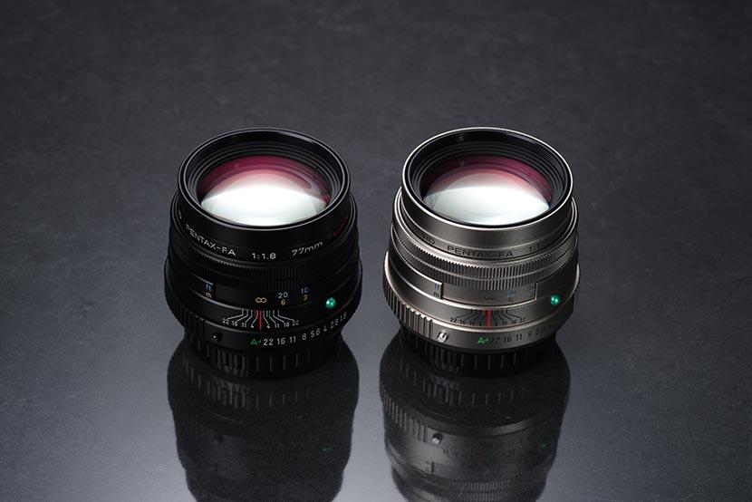 Pentax 77mm f1.8 Limited FA HD