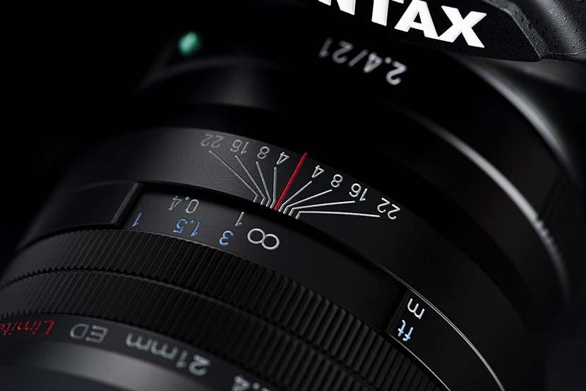 Pentax 21mm f2.4 D FA ED HD Limited DC WR